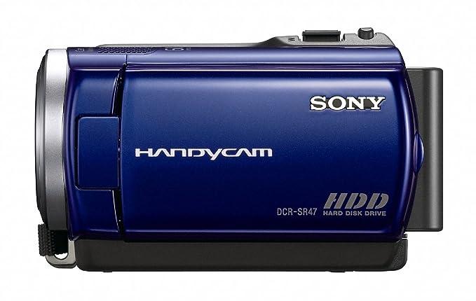 amazon com sony dcr sr47 hard disk drive handycam camcorder blue rh amazon com Sony Handycam Instruction Book Sony Handycam Instruction Book