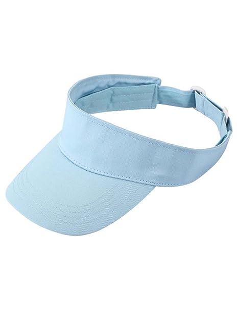 Unisex Herren Damen Sports Visor Tennis Hüte Sommer Sunvisor Golfcap Sonnenhut