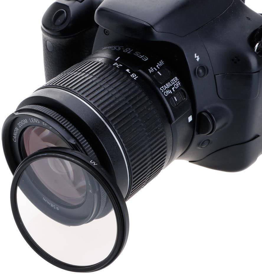 for Your Camera Lens with 55mm Filter Thread Market/&YCY 55mm Thin Multi-Coated UV Filter Protection Filter