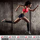 CHARMKING Compression Socks (3 Pairs) 15-20 mmHg is Best Athletic & Medical for Men & Women, Running, Flight, Travel, Nurses, Edema - Boost Performance, Blood Circulation & Recovery