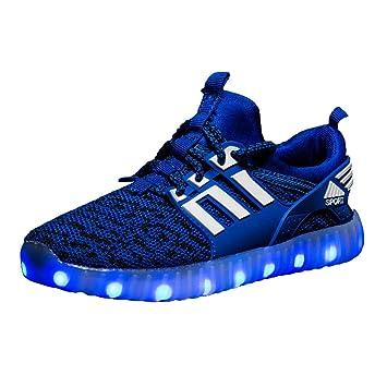 best website d4477 5ee5d Kinder Turnschuhe mit Licht LED Leuchtende, Jungen Mädchen Sport Schuhe  Mode Kinderschuhe Weiche Outdoor Lässige Laufschuhe Schuhe Sneaker für  Unisex ...