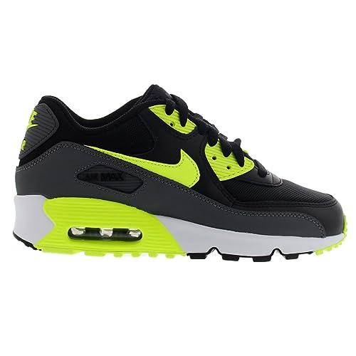 lowest price 39303 840a2 Nike Air Max 90 Mesh (GS)- Scarpe Sportive da Bambini, Nero (Black ...