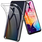 efonebits Back Cover Case for Samsung Galaxy A50s / A50 / A30s Flexible Shockproof TPU Cushioned Edges (Transparent)