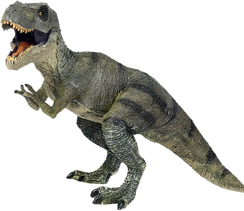 willway 12 inch Large T-rex Dinosaur Toy, Educational Tyrannosaurus Rex Dinosaur Figure T-Rex Figurine Toys for Kids Birthday Home Party Decorations