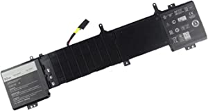 SUNNEAR 6JHDV Laptop Battery Replacement for Dell Alienware 17 R2 R3 P43F001 P43F002 ALW17ED-4718 ALW17ED-1728 2728 3728 3828 4738 4838 Series 5046J 6JHCY 14.8V 6200mAh 92Wh 8cells