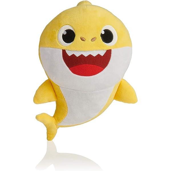 Cartoon PinkFong Plush Toys Fox Toy Sharks Dolls Children Baby Animal Toys