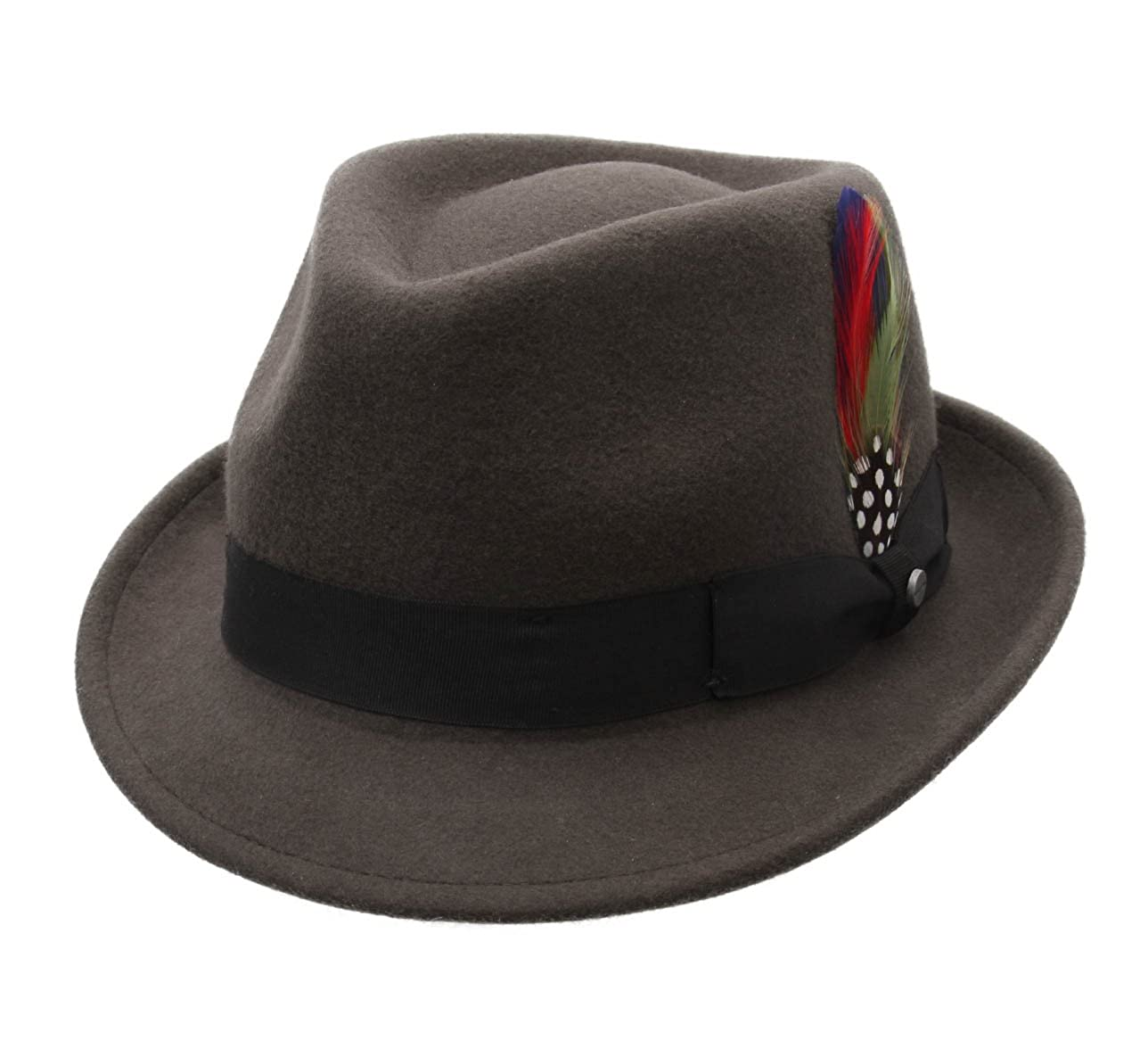 cc32653af86be Stetson Richmond Wool Felt Trilby Hat at Amazon Men s Clothing store