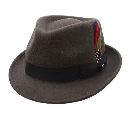 767471fab10ce Stetson Richmond Wool Felt Trilby Hat at Amazon Men s Clothing store