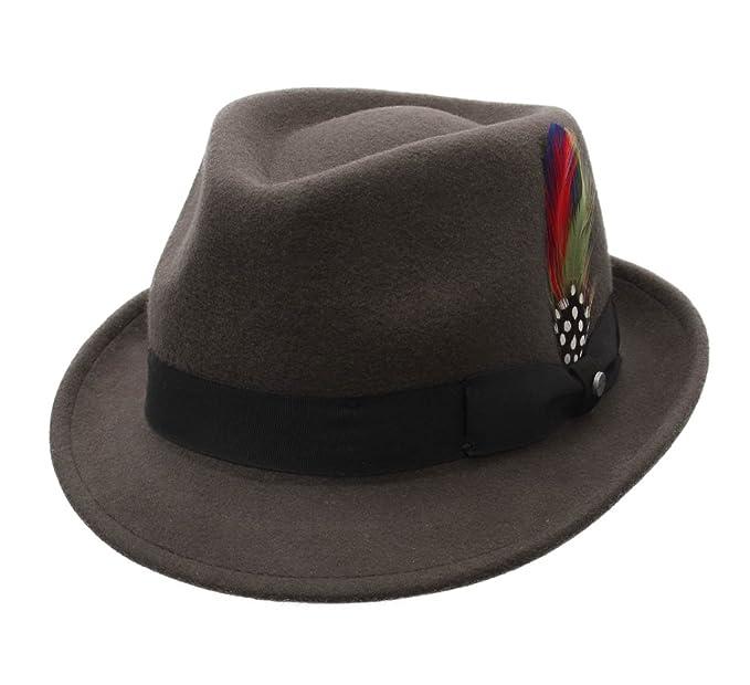 Stetson - Cappello Trilby feltro Uomo Richmond  Amazon.it  Abbigliamento ace538a6915c