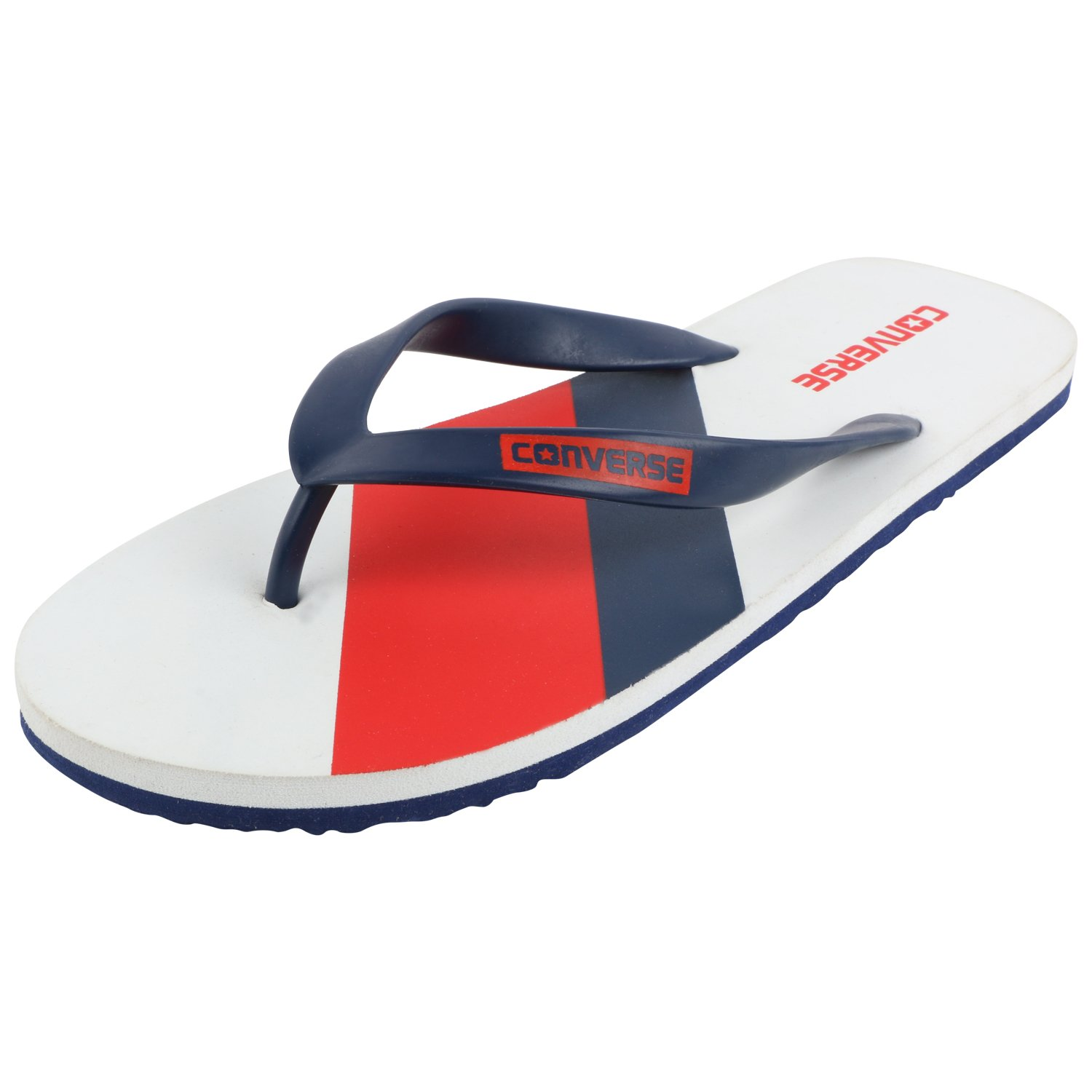 f96218942cf91 Converse Men s White Red Navy Flip-Flops and House Slippers - 6 UK India  (39 EU)  Buy Online at Low Prices in India - Amazon.in