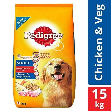 Buy Pedigree Adult Dry Dog Food Chicken Vegetables 15 Kg Pack