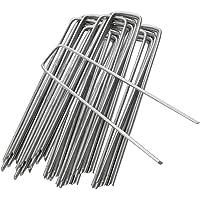 Tuinharingen Staken Nietjes Beveiligen Gazon U-vormige spijkerpennen Ideaal voor onkruidbestrijding Membraan/stof…