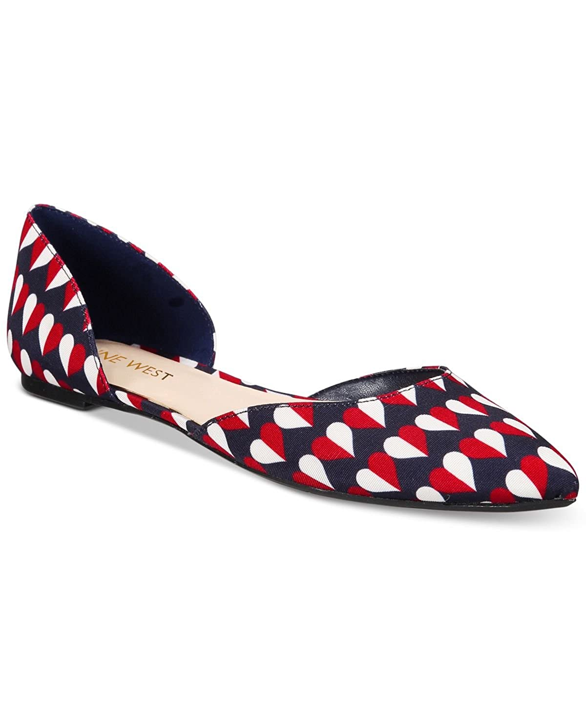 Nine West Frauen Starship Ballerinas, Ballerinas, Ballerinas, Flach Navy Multi Fabric 162b89