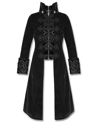Punk Rave Baratheon con capucha para mujer de pared para abrigos de terciopelo negro Steampunk diseño gótico: Amazon.es: Ropa y accesorios