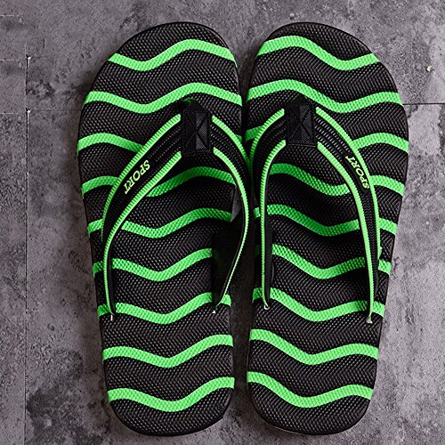 XIAOLIN Zapatillas de Pareja de Verano Zapatos de Playa para Hombres Clip Zapatos de Pie Marea de Hombres Verano antideslizante Zapatillas Cool Hombre de Gran Tamaño (Opcional) ( Color : 01 , Tamaño : 05