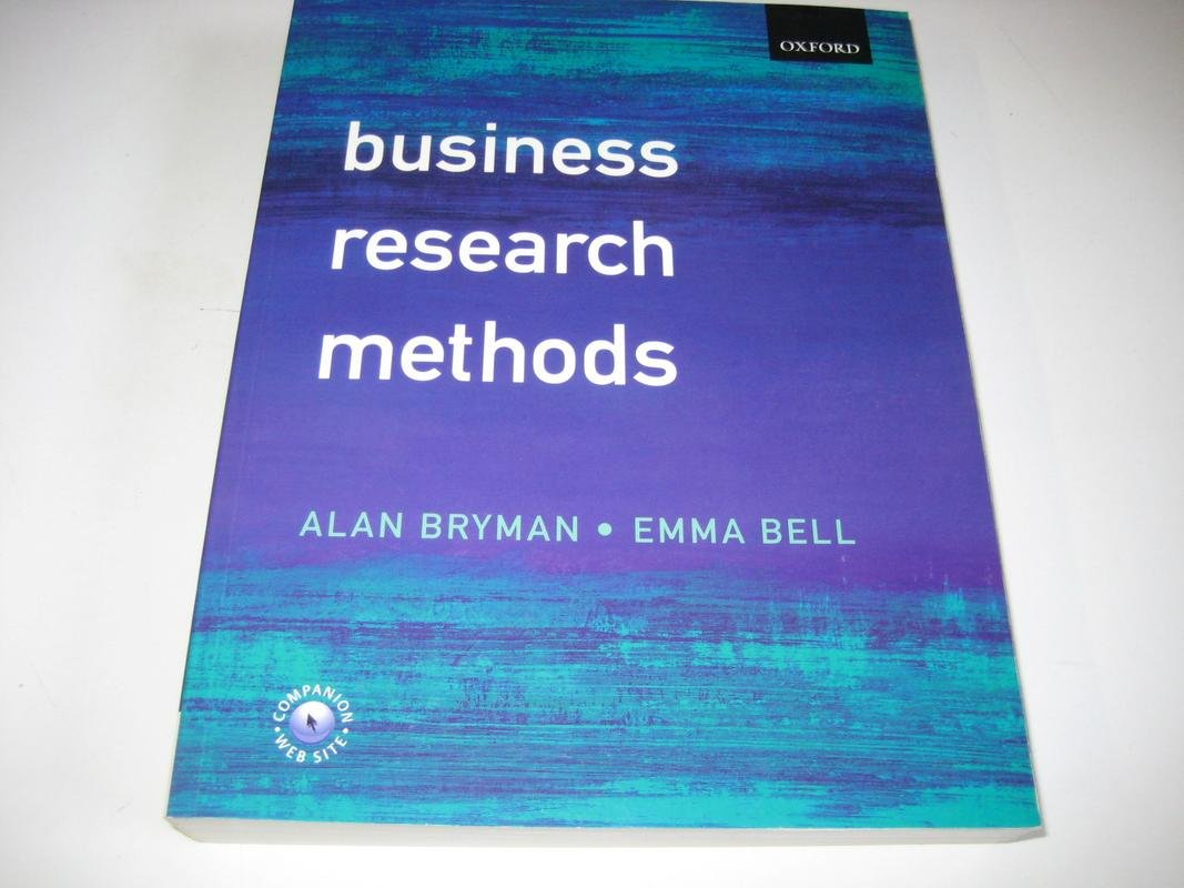 business research methods bryman and bell 4th edition pdf free