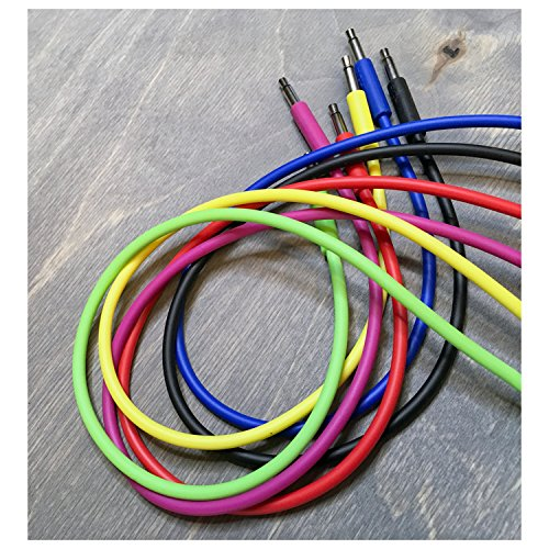 Pittsburgh Modular Nazca Audio Noodles 6-Pack Long Modular Synth Cables by Pittsburgh Modular
