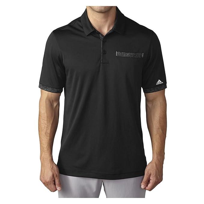 e774539f42d71 Amazon.com : adidas Golf Men's Climachill Camo Pocket Polo, Black ...