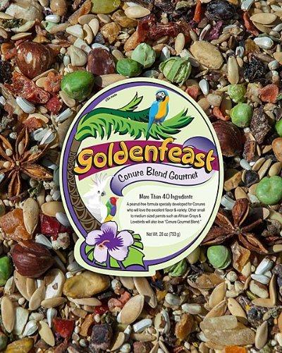 Goldenfeast Gourmet Conure Blend 28 (Goldenfeast Granola)