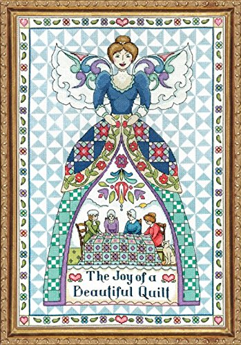 ing Angel (2860) - Counted Cross Stitch Kit - 14 by 20 inches - with Gift Card ()