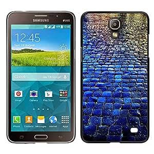 """Pulsar Snap-on Series Teléfono Carcasa Funda Case Caso para Samsung Galaxy Mega 2 , Adoquines City Blue Rain Reflexión"""""""
