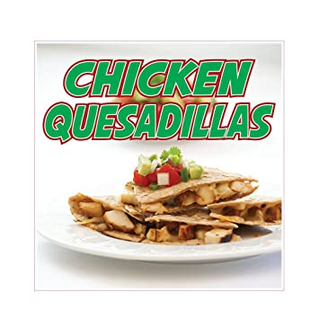 Amazon Chicken Quesadillas Concession Restaurant Food Truck