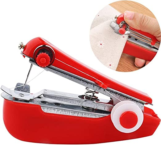 Yuaer Mini máquina de coser de mano, máquina de confección ...