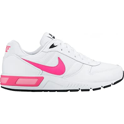 Nike Nightgazer (GS), Zapatillas de Running para Mujer, Blanco (White/Pink Blast-Black), 38 EU: Amazon.es: Zapatos y complementos