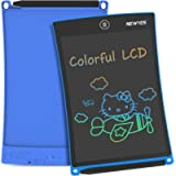 NEWYES 8.5 Inches Colorful Doodle Board LCD Screen Writing Tablet Magnetic Drawing Board Erasable Doodles Notepad Gifts…