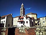 LAMINATED 32x24 Poster: Split Dalmatia Architecture Cathedral Church Diocletian Palace
