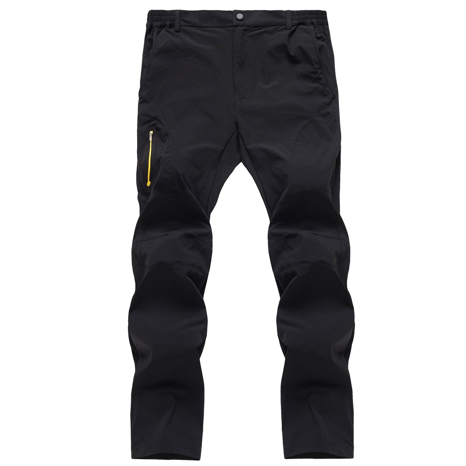 Naudamp Mens Casual Quick-dry Hiking Pants Water Resistant Walking Athletics Trousers