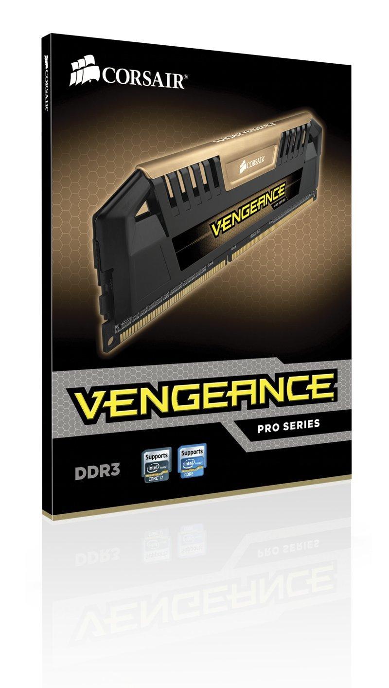Corsair Vengeance Pro Series Gold 16GB (2x8GB) DDR3 1600 MHz PC3 12800 Desktop Memory Module 1.5V