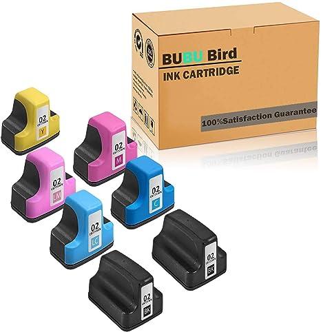 Amazon.com: Paquete de 7 cartuchos de tinta remanufacturados ...