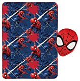 Jay Franco Marvel Spiderman Plush Pillow and 40