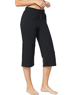 Baleaf Women s Active Yoga Lounge Bermuda Shorts with Pockets at ... ab262808ae