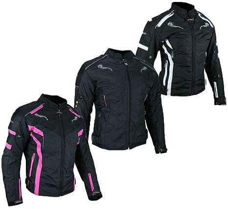 HEYBERRY Kurze Textil Motorrad Jacke Motorradjacke Schwarz Gr 5XL