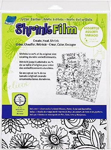 Grafix KSF4-ASST-MN Shrink Film, 8.5