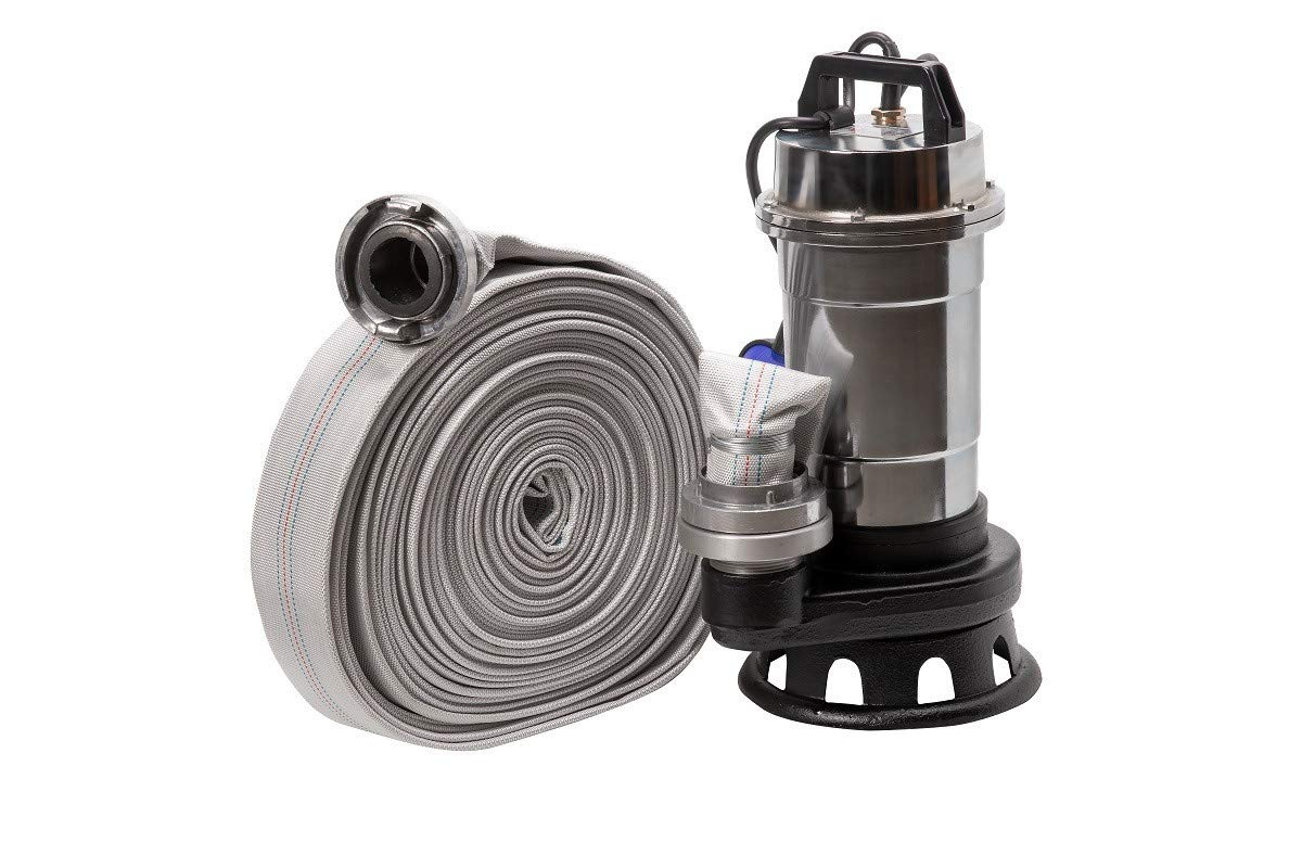Pompe eaux charg/ées+broyeur R/öhtenbach NITRO2850+30M 550W 230V tuyau 30m