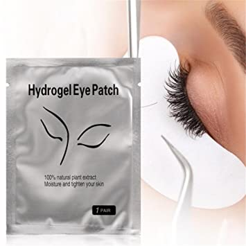 43affdc2c64 Amazon.com: Eye Gel Patches,Under Eye Pads Lint Free Lash Extension Eye Gel  Patches for Eyelash Extension Eye Mask Beauty Tool (50): Beauty