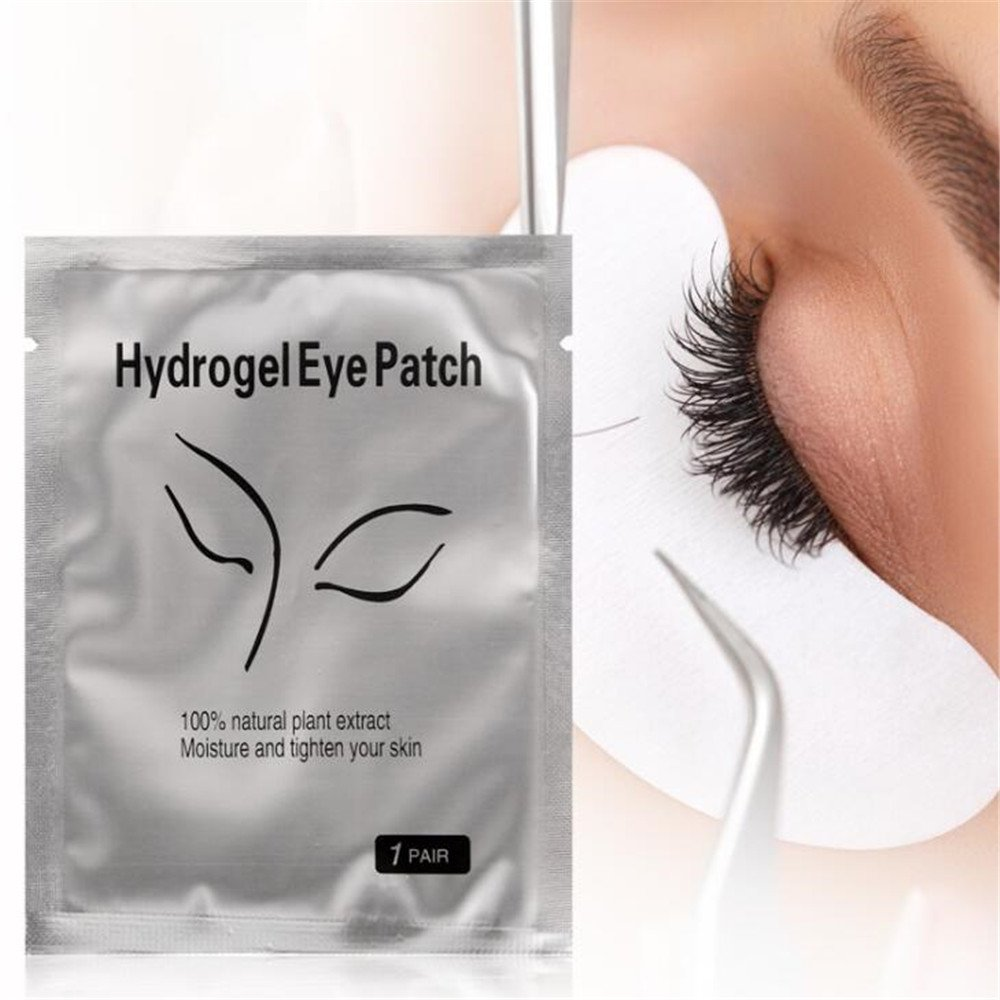 Eye Gel Patches,Under Eye Pads Lint Free Lash Extension Eye Gel Patches for Eyelash Extension Eye Mask Beauty Tool (100)