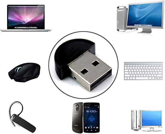 EDR high-speed Mini Bluetooth USB 2.0 Dongle Adapter for PC Laptop