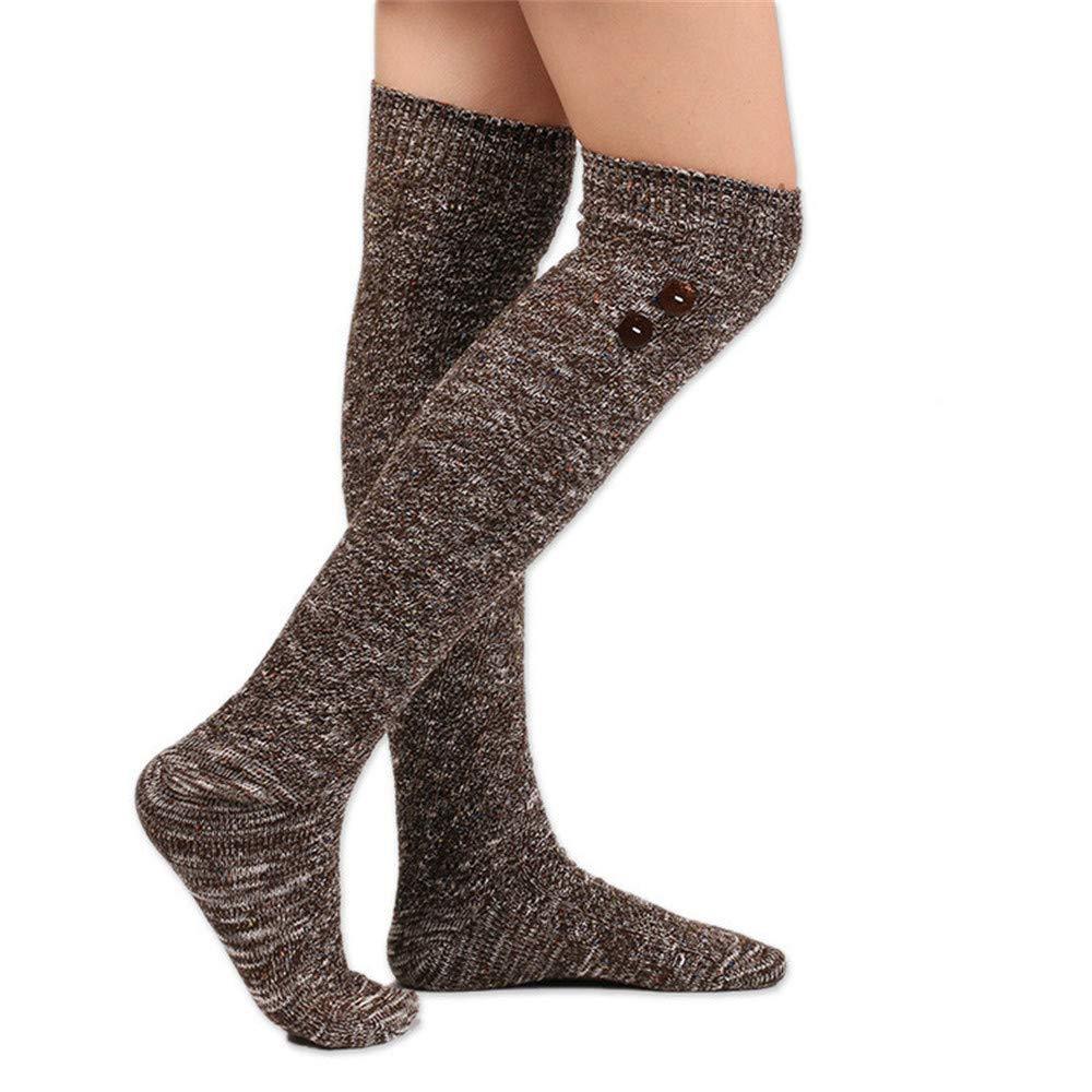 XNWH Womens Stockings Female Student High Socks Knit Long Socks Stockings
