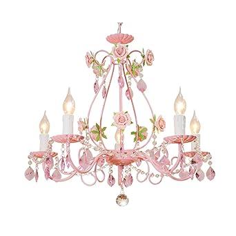 Tangmengyun Europaische Kerze Kristall Kronleuchter Personlichkeit Dekorative Anhanger Deckenleuchte Kinderzimmer Schlafzimmer Wohnzimmer Restaurant