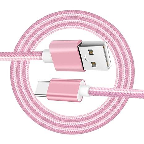 B Baosity - Cable USB Tipo C, USB C a Cargador USB A, Cable ...