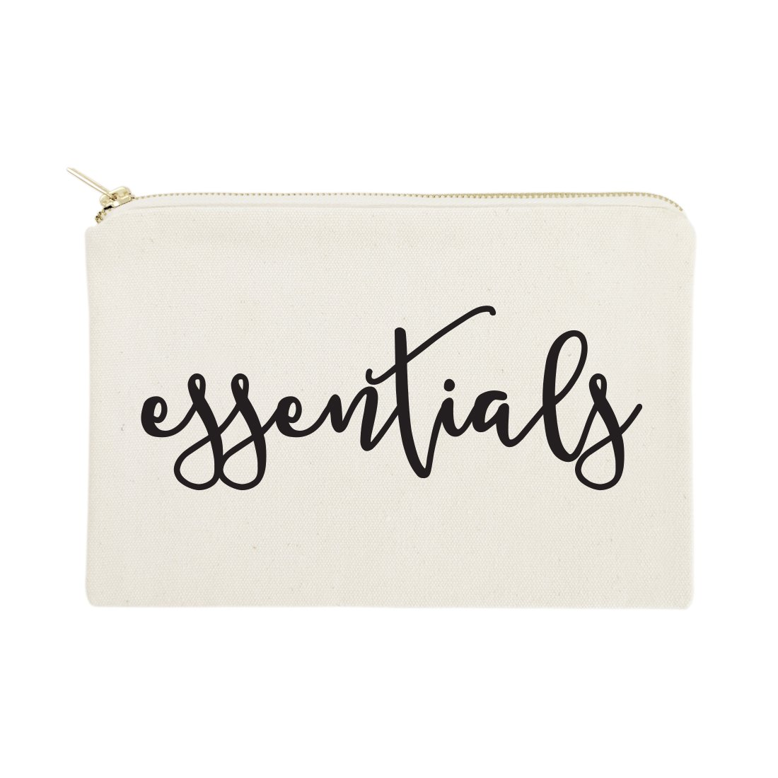 The Cotton & Canvas Co. Essentials Cosmetic Bag and Travel Make Up Pouch
