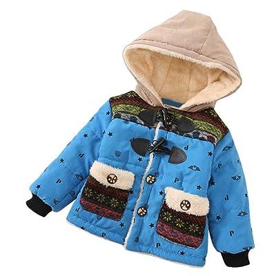 Makaor Kids Baby Boys Girls Fur Winter Warm Coat Cloak Jacket Thick Warm Clothes
