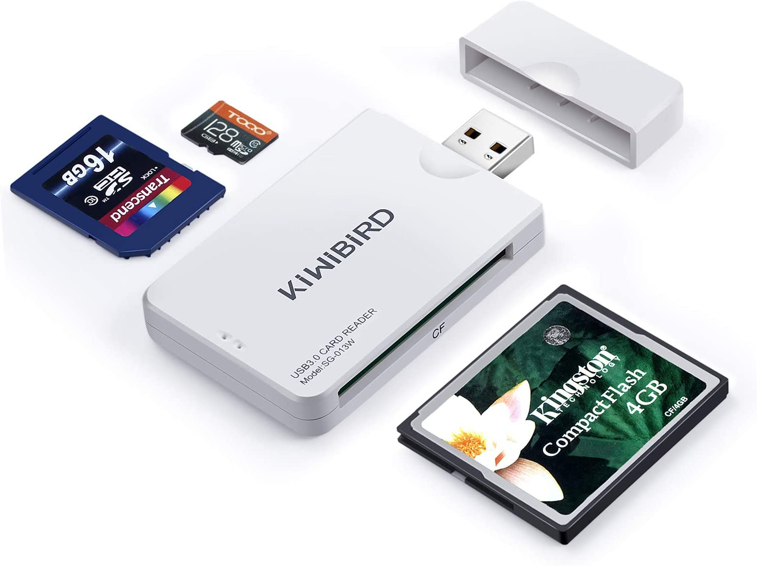 CF Card Reader USB 3.0 Be Up to 5Gbps Up to Support 256GB with LED Indicator Light USB Interface No Need to Install Drivers//for Video Clip Photography