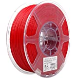 eSUN 1.75mm PLA PRO (PLA+) 3D Printer Filament 1KG Spool (2.2lbs), 19 Colors to Choose (Fire Engine Red)