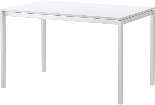 IKEA MELLTORP - Mesa de Comedor (125 x 75 cm), Color Blanco ...