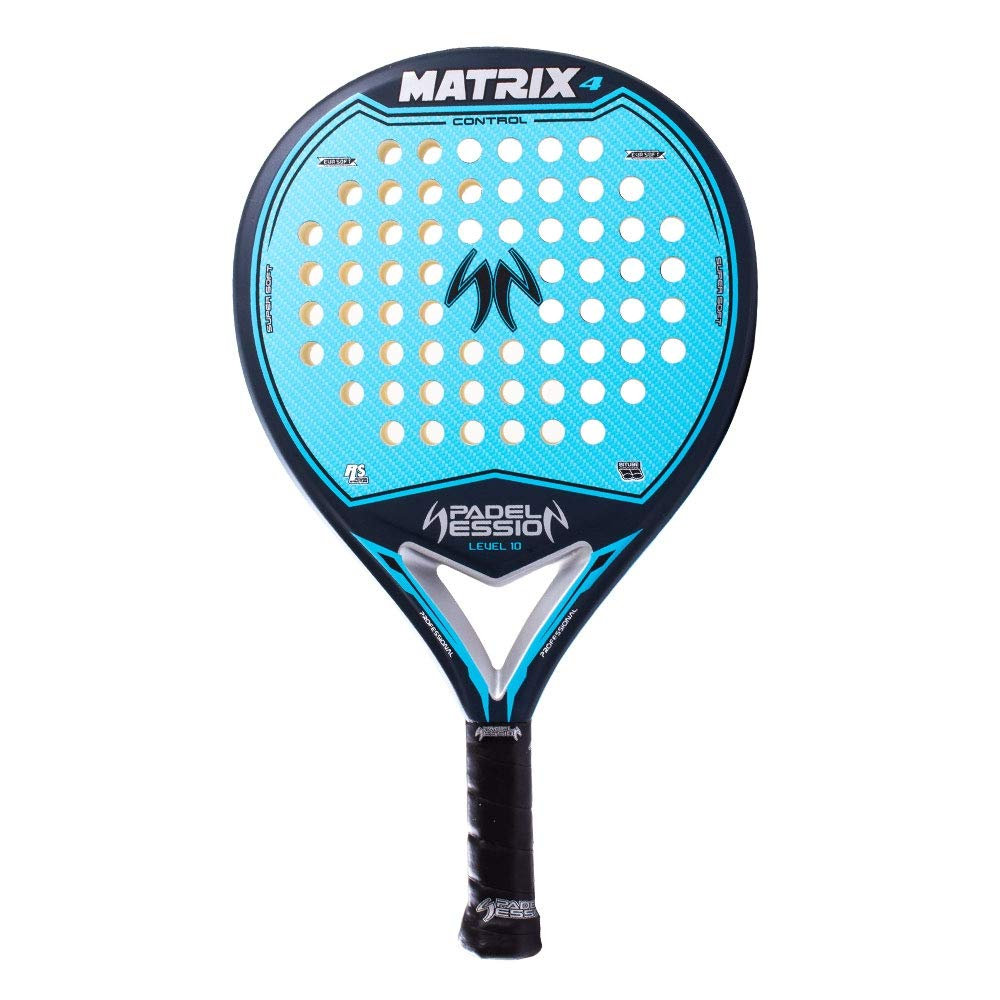 Padel Session Matrix 4 Azul: Amazon.es: Deportes y aire libre